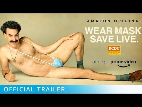 Borat Subsequent Moviefilm - Official Trailer   Prime Video