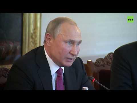 «Добро пожаловать, господин президент»: глава Финляндии поприветствовал Путина на русском языке
