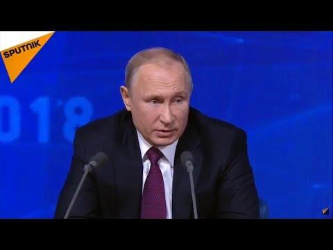 LIVE: Большая пресс-конференция Владимира Путина