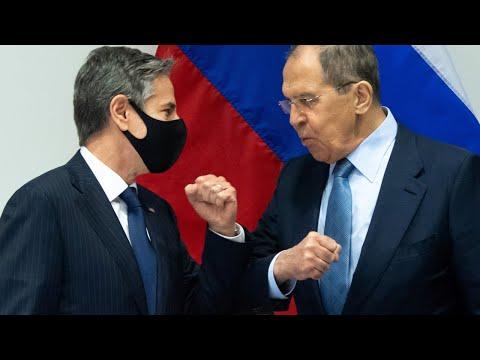 Встреча Лаврова и Блинкена