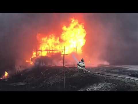 Пожар у стадиона Ростов Арена 28 03 2020