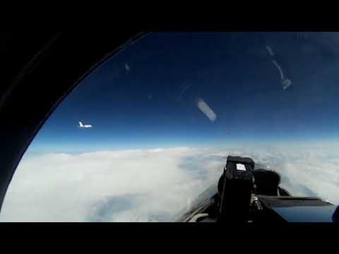 Перехват самолёта разведчика над Балтикой МА БФ