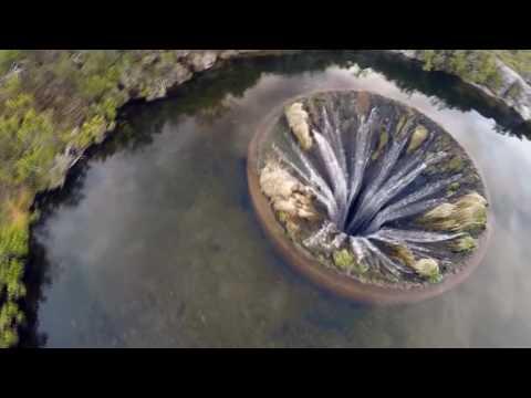 «Дырявое» водохранилище Кончос в Португалии