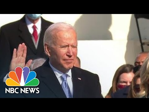WATCH: Joe Biden Is Sworn In As President Of The United States | NBC News