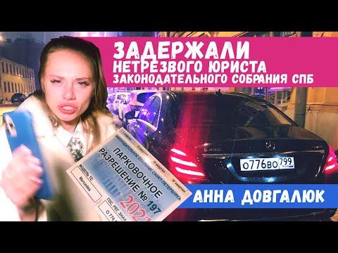 🚔 Инспекторы ДПС задержали нетрезвую 👽 Анну Довгалюк за рулем Mercedes S450