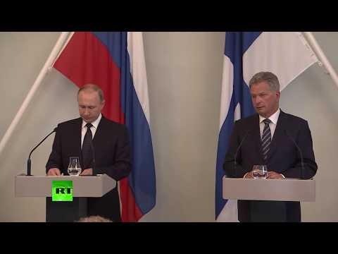 Путин и президент Финляндии подводят итоги переговоров