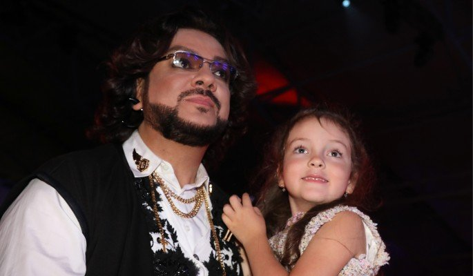 Филипп Киркоров и его дочь Алла-Виктория