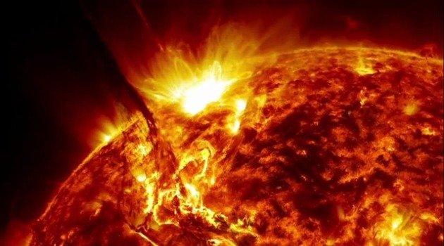 Всплеск на Солнце