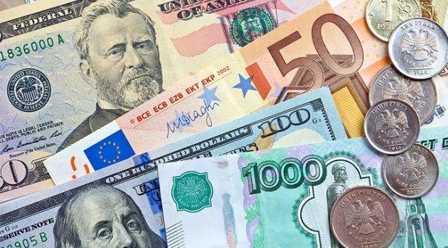 Валюта, доллары, евро