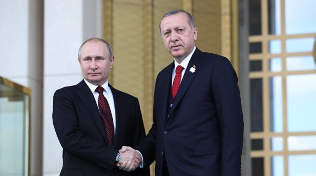 Владимир Путин и Реджеп Тайип Эрдоган