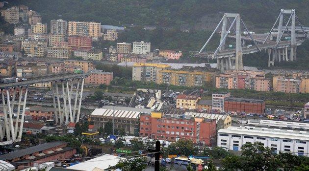 Генуя, мост