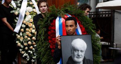 В Москве простились с Дмитрием Брусникиным (фото, видео)