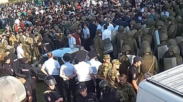Беспорядки в Кабардино-Балкарии