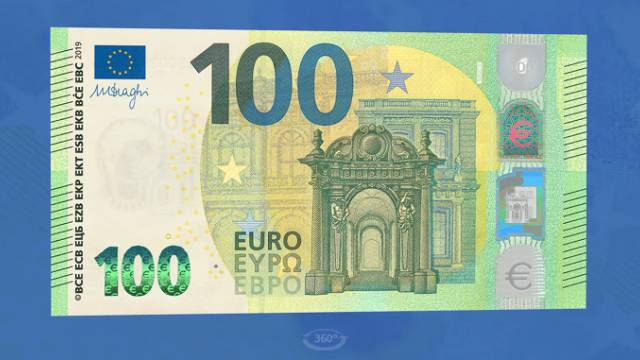 100 евро 2019