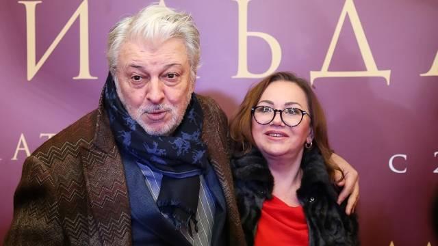 Вячеслав Добрынин с супругой Ириной