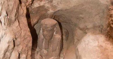 На юге Египта обнаружили сфинкса эпохи Птолемеев