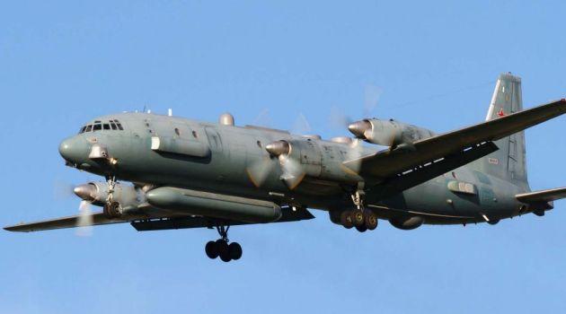 Ил-20 в небе Сирии