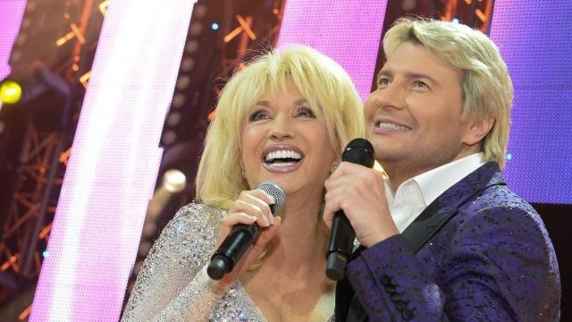 Ирина Аллегрова и Николай Басков