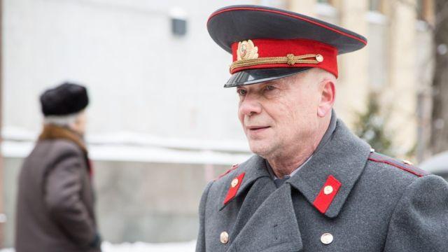 Андрей Смоляков в роли майора Черкасова