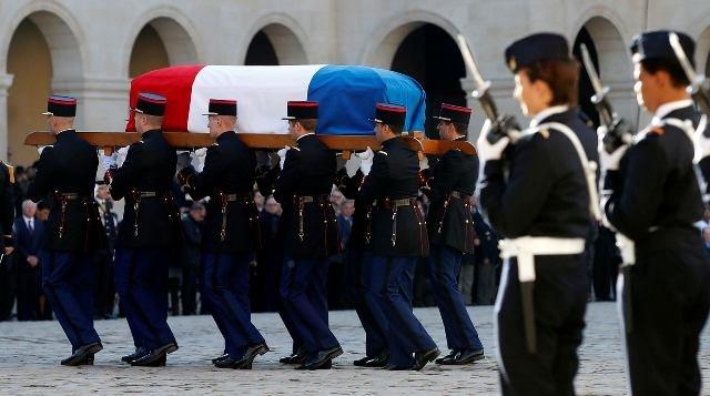 Похороны Шарля Азнавура