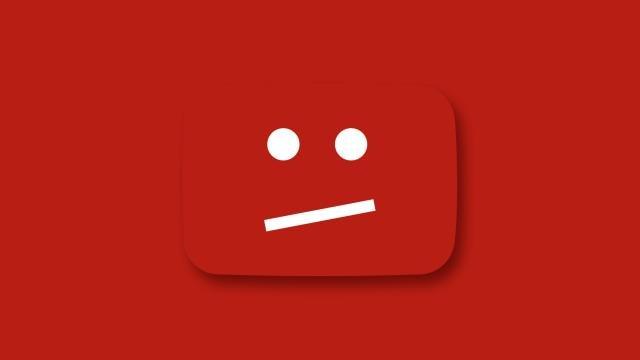 Блокировка в YouTube