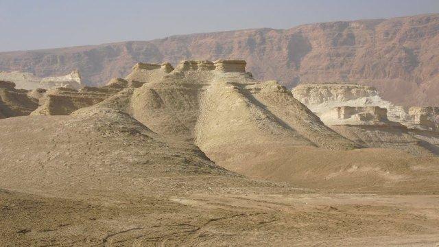 Предполагаемое местоположение Содома и Гоморры в районе Мертвого моря