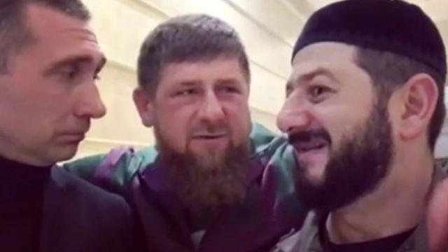 Рамзан Кадыров и Михаил Галустян