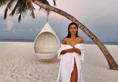 Боня отдыхает с новым любовником на Мальдивах (видео)