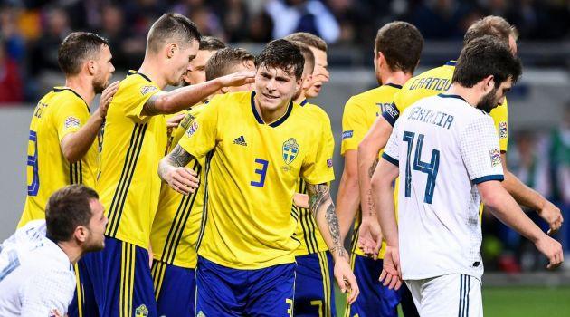 Швеция-Россия 2:0. Лига наций. 20.11.2018г.