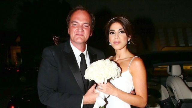 Квентин Тарантино и Даниэла Пик