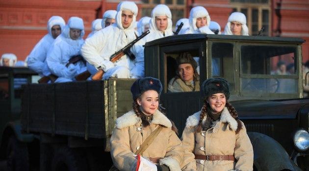 Парад на Красной площади. 7 ноября 2018 года