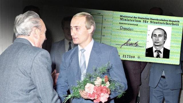 Путин, Штази