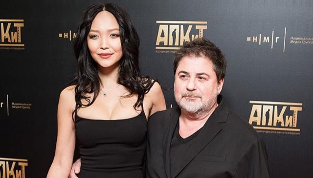 Александр Цекало с супругой Дариной Эрвин