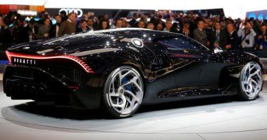 В Женеве представили самый дорогой в мире автомобиль (фото)