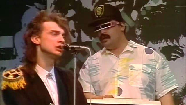 Участник советской рок-группы «Альянс» Олег Парастаев