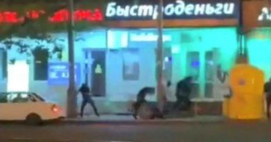 Массовая перестрелка в Краснодаре привела к смерти (видео)