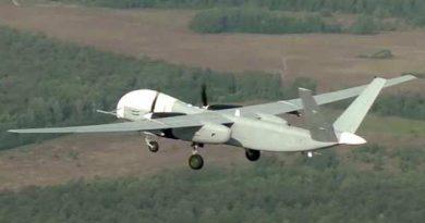 Минобороны показало первый полет беспилотника «Альтиус-У» (видео)