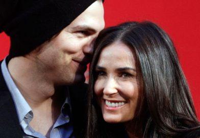 Секс втроем разрушил брак Деми Мур с Эштоном Кутчером