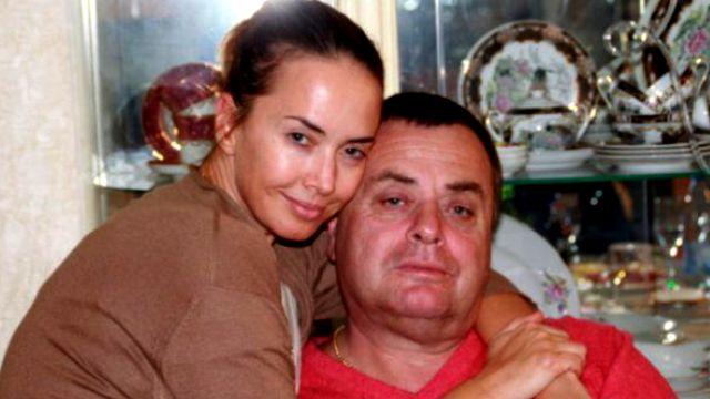 Жанна Фриске с отцом Владимиром