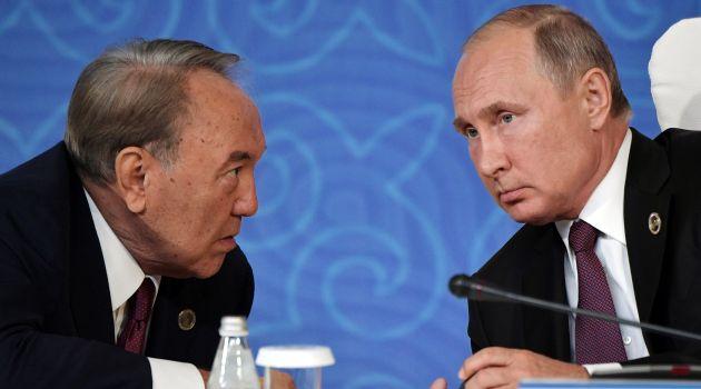 Путин поддержал подход Назарбаева по Украине