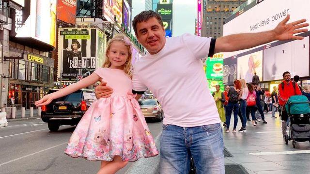 Анастасия Радзинская и ее отец