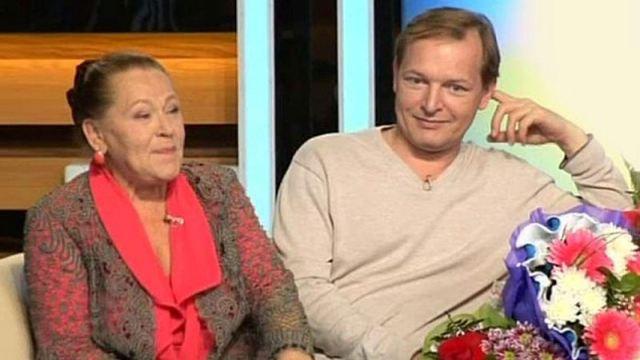 Раиса Рязанова и ее сын Данила