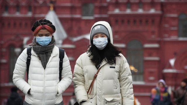 Эпидемия, коронавирус в России