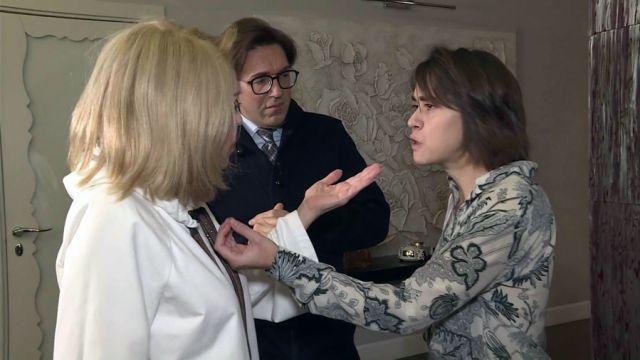Любовь Успенская, Андрей Малахов и Татьяна Плаксина