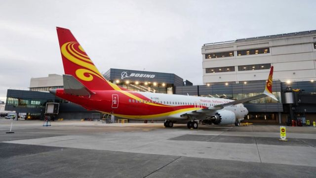 Hainan Airlines Boeing 737 Max 8 B-1390