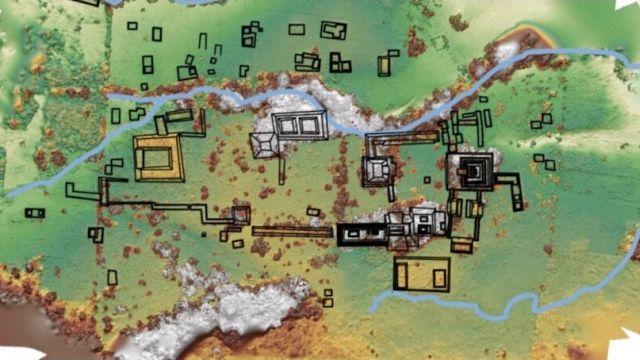 Древняя столица майя