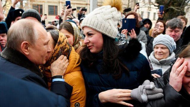 Влдаимир Путин и Юлия Шилова