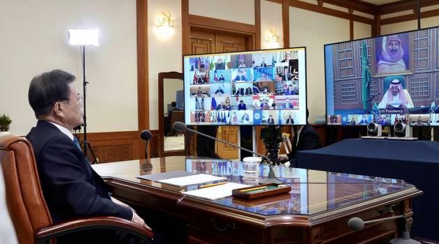 Саммит G20 впервые прошел в виртуальном режиме