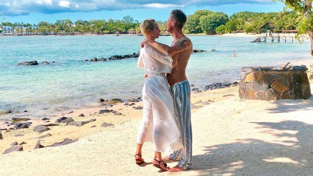 Алексей Панин на острове Маврикий