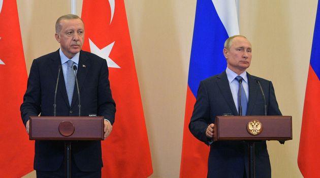 Эрдоган - Путин